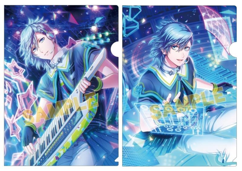 うたの☆プリンスさまっ♪ Shining Live クリアファイル2枚セット Shiny Star Live Ver.「美風 藍」_0