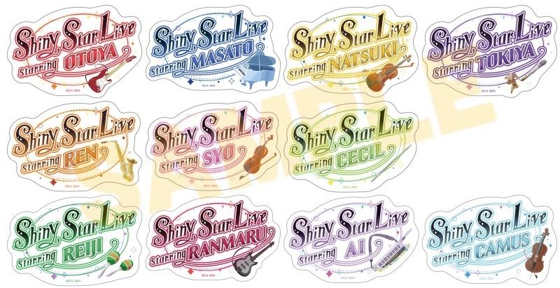 うたの☆プリンスさまっ♪ Shining Live トレーディングアクリルバッジ Shiny Star Live Ver._0