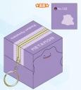 【グッズ-ポーチ】ポケットモンスター キューブポーチ メタモンの画像