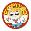 【グッズ-バッチ】ポプテピピック てくトコ缶バッチ/ポプ子の画像