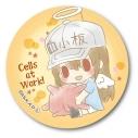 【グッズ-バッチ】はたらく細胞 エンジェルシリーズ -Design produced by Sanrio- ぎゅぎゅっと缶バッチ/血小板の画像
