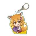 【グッズ-キーホルダー】世話やきキツネの仙狐さん ぎゅぎゅっとアクリルキーホルダー/Aの画像