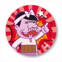 【グッズ-バッチ】深夜!天才バカボン 缶バッチ パパの画像