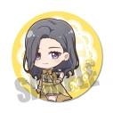 【グッズ-バッチ】推しが武道館いってくれたら死ぬ てくトコ缶バッジ/伯方 眞妃の画像