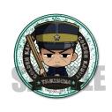 【グッズ-バッチ】ゴールデンカムイ ごちきゃら缶バッジ/月島軍曹の画像