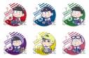 【グッズ-バッチ】おそ松さん トレーディング缶バッジ/なやむんの画像