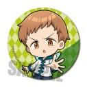 【グッズ-バッチ】七つの大罪 憤怒の審判 アクションシリーズ缶バッジ/キングの画像