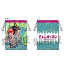 【グッズ-巾着】チェンソーマン 巾着/デンジ&マキマの画像