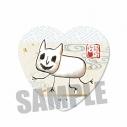 【グッズ-バッチ】鬼灯の冷徹 ハート缶バッジ/猫好好の画像