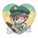【グッズ-バッチ】宇崎ちゃんは遊びたい! ハート缶バッジ/宇崎 花(警察官B)の画像