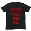 【グッズ-Tシャツ】特価 PSYCHO-PASS サイコパス 犯罪係数Tシャツ BLACK Lの画像