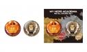 【グッズ-バッチ】僕のヒーローアカデミア メタル缶バッジセット エンデヴァー&ホークスの画像