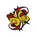 """【グッズ-ピンバッチ】SK∞ エスケーエイト """"S""""ピンバッジの画像"""