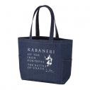 【グッズ-バッグ】甲鉄城のカバネリ 海門決戦 デニムトートバッグの画像