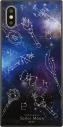 【グッズ-カバーホルダー】美少女戦士セーラームーン iPhone XS/X対応 スクエアガラスケース 外部太陽4戦士柄の画像