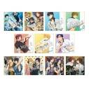 【グッズ-色紙】Free! CD Jacket Illustration Series ミニ色紙 コレクション Vol.1の画像