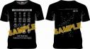 【グッズ-Tシャツ】機動戦士ガンダム×October Beast ジオン全モビルスーツ Tシャツ XLの画像