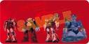 【グッズ-マット】機動戦士ガンダム×October Beast シャア専用ラバーマットの画像