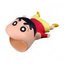 【グッズ-携帯グッズ】クレヨンしんちゃん CABLE BITE BIG 01しんちゃんの画像