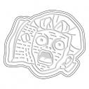 【グッズ-皿】ジョジョの奇妙な冒険 ダイヤモンドは砕けない 醤遊皿02 ヘブンズ・ドアーの画像