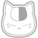 【グッズ-皿】夏目友人帳 醤遊皿Vol.2 01ニャンコ先生 お昼寝の画像