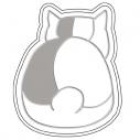 【グッズ-皿】夏目友人帳 醤遊皿Vol.2 02ニャンコ先生 後ろ姿の画像
