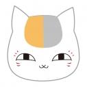 【グッズ-バッチ】夏目友人帳 プチっとバッジ 01ニャンコ先生 ノーマルの画像