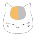 【グッズ-バッチ】夏目友人帳 プチっとバッジ 02ニャンコ先生 お昼寝の画像