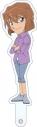 【グッズ-スタンドポップ】名探偵コナン キャラ撮りスティック 灰原哀の画像
