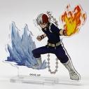 【グッズ-スタンドポップ】僕のヒーローアカデミア アクリルスタンドキーチェーン 轟焦凍の画像