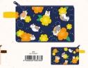 【グッズ-ポーチ】夏目友人帳 持ち手付フラットポーチお花の画像