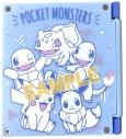 【グッズ-時計】ポケットモンスター 3面ミラー&フレームクロック 集合の画像