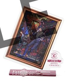 【グッズ-スタンドポップ】Fate/Grand Order HOTEL CHALDEA アクリルスタンド 坂本探偵事務所~お竜さんもいるぞ~