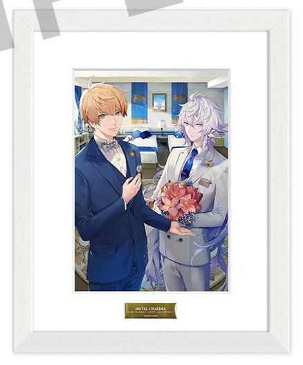 【グッズ-複製原画集】Fate/Grand Order HOTEL CHALDEA ファイングラフ ルーム・キャメロット~ホリデー・イン・アヴァロン~