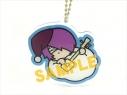 【グッズ-キーホルダー】銀魂×サンリオ KIHEITAI×GO おやすみ柄 とぅるるんアクリルキーホルダー(高杉)の画像