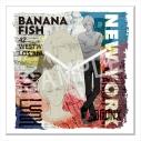 【グッズ-時計】BANANA FISH アクリル時計の画像