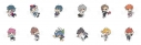 【グッズ-キーホルダー】ヒプマイ サンリオリミックス トレーディングアクリルキーホルダーの画像
