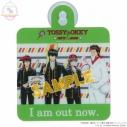 【グッズ-ドアプレート】銀魂×Sanrio characters ドアプレートTOSSY&OKKY メイキングイラストの画像