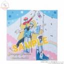 【グッズ-タオル】銀魂×Sanrio characters マイクロファイバーミニクロスYorozuya Ginchan メイキングイラストの画像