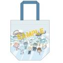 【グッズ-バッグ】銀魂×Sanrio characters トートバッグ~スケート~の画像
