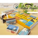 【グッズ-メモ帳】スタジオジブリ マッチ箱メモ/10コセットの画像