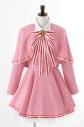 【コスプレ-衣装】カードキャプターさくら クリアカード編 木之本 桜の衣装(クリアカード編)/XLの画像