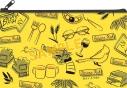 【グッズ-ペンケース】BANANA FISH ペンケース/YELLOW×BLACKの画像