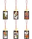 【グッズ-ストラップ】夏目友人帳 ニャンコ先生根付コレクション/花札の画像
