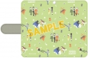 【グッズ-カバーホルダー】フルーツバスケット 手帳型スマートフォンケース/ゆるパレットの画像