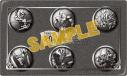 【グッズ-メダル】遊☆戯☆王オフィシャルカードゲーム 記念メダルセット/主人公の画像