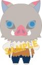 【グッズ-マスコット】鬼滅の刃 フィンガーマスコット・パペラ/嘴平伊之助の画像