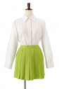 【コスプレ-衣装】ACOS スカート(黄緑)/Lの画像
