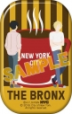 【グッズ-バッチ】BANANA FISH 缶バッジ/NYC BRONX Coffeeの画像
