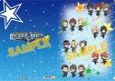 【グッズ-クリアファイル】アイドルマスター SideM クリアファイル/5周年デフォルメ Aの画像